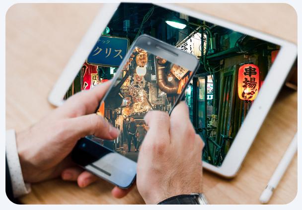 Japan TV on tablet